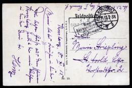 A2146) DR Feldpost-Karte Von Konstanz 7.11.1915 Nach St. Avold / Lothringen Mit Zensur - Deutschland