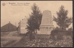 Belgique - Waterloo - Monument Des Belges - Monument From The Belgians - Waterloo