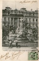 TOULON - Fontaine De La Place De La République -1903 - - Toulon