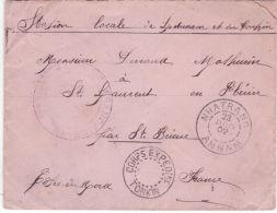 1902- Enveloppe De NHATRANG / ANNAM  + Corps Expédi.re / Tonkin Pour La France - Storia Postale
