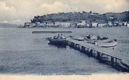 TOULON - Saint-Mandrier - Le Débarcadère  - 1925 - - Toulon