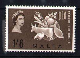 Malta - 1963 Freedom From Hunger MNH__(TH-5076) - Malta (...-1964)