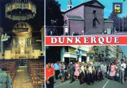 (D)    59 Dunkerque  3 Vues  De L' Eglise  Notre Dame Desdunes - Dunkerque