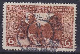 OOSTENRIJK - Michel - 1906 - Nr 33 (Bosnië-Herzegovina) - Gest/Obl/Us - Levant Autrichien