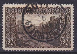 OOSTENRIJK - Michel - 1906 - Nr 35 (Bosnië-Herzegovina) - Gest/Obl/Us - Levant Autrichien