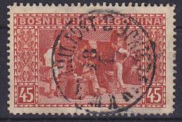 OOSTENRIJK - Michel - 1906 - Nr 40 (Bosnië-Herzegovina) - Gest/Obl/Us - Levant Autrichien
