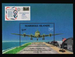 Marshall Islands - 1986 Douglas C54 Block MNH__(TH-13359) - Marshall