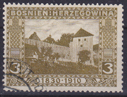 OOSTENRIJK - Michel - 1910 - Nr 47 (Bosnië-Herzegovina) - Gest/Obl/Us - Levant Autrichien