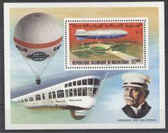 Mauritania - 1976 Zeppelin Block MNH__(TH-520) - Mauretanien (1960-...)