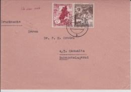 REICH  - 1939  - ENVELOPPE De DRESDEN-LOSCHWITZ à CHEMNITZ  - TIMBRES TETE-BECHE - Alemania