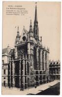 CC, 75, PARIS, LA SAINTE-CHAPELLE, Construite En 1245, Sur L'ordre De St Louis..., Voyagé En 1931 - Eglises