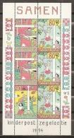 INFANCIA - HOLANDA 1994 - Yvert #H42 - MNH ** - Infancia & Juventud