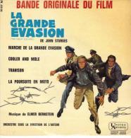 "B-O-F Elmer Bernstein / McQueen / Garner / Attenborough "" La Grande évasion "" - Soundtracks, Film Music"
