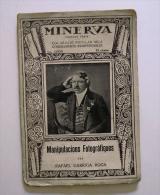 Rafael Garriga Roca: Manipulacions Fotogràfiques. (manuals Fotografia Fotoquímica Química Minerva) - Libros, Revistas, Cómics