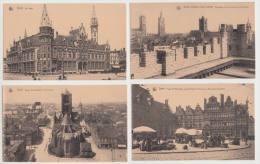 9 OLD POSTCARDS:  GAND (BELGIQUE) - (3 Scans) - Nels 2me Série - Cartes Postales