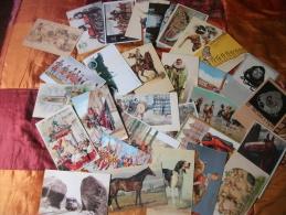 Lotto Cartoline-30 Riproduzioni Da Oriinali Di Cartoline Illustrate - 5 - 99 Cartes