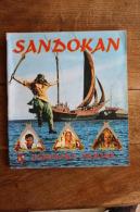 Sandokan- Album D'autocollants Figurines Panini - Editions Internationales Panini, 1976 - Manque 93 Images Sur Les 400. - Vieux Papiers