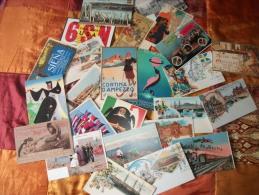 Lotto Cartoline-25 Riproduzioni Da Oriinali Di Cartoline Luoghi E Città - Cartoline