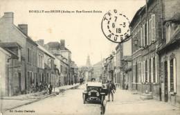 10 ROMILLY SUR SEINE - RUE GORNET BOLVIN ( AUTOMOBILE ) - Romilly-sur-Seine