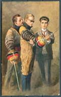 Georg Muehlberg - Hofkunsthandlung Studentenleben Nr. 15 Studentika Mensurpause Fencing Postcard - Illustrators & Photographers