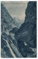 CP, 73, Route Des Alpes, Gorges De Val-d'Isère, Voyagé - Val D'Isere