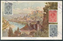 1921 Austria Salzburg Von Mulln - Herman Kerber Kunstlerpostkarte No 20 - Austria