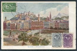 Austria Salzburg Die Altstadt - Herman Kerber Kunstlerpostkarte No 19 - Unclassified