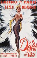 Programme Casino De Paris (1966) - LINE RENAUD Désirs De Paris - Programs