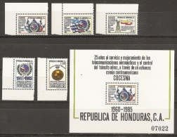 HONDURAS 1986 - Yvert #270/74+H35 - MNH ** - Honduras