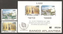 HONDURAS 1988 - Yvert #A719/20+H36 - MNH ** - Honduras