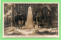 68 CAMP DUBARLE. Monument Elevé à La Mémoire Du Capitaine Robert DUBARLE Tombé Devant METZERAL. Chasseurs Alpins - Other Municipalities