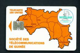 GUINEA (CONAKRY) - Chip Phonecard As Scan - Guinea