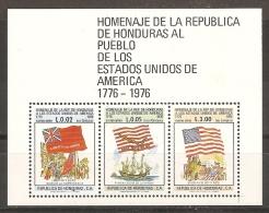 HONDURAS 1977 - Yvert #H26 - MNH ** - Honduras