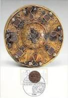 ALLEMAGNE BUND CARTE MAXIMUM NUM.YVERT 1173 BIJOUX ANCIENS - Cartoline Maximum