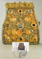 ALLEMAGNE BUND CARTE MAXIMUM NUM.YVERT 1174 BIJOUX ANCIENS - Cartoline Maximum