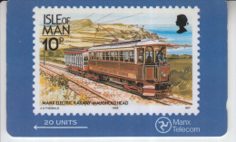 MAN - IOM STAMPS - ELECTRIC RAILWAY - Isola Di Man