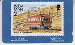 MAN - IOM STAMPS - MOUNTAIN RAILWAY - Isola Di Man
