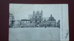 MALINES - Les Halles - Statue De Marguerite D'Autriche En 1906 - Machelen