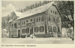 Bad Rippoldsau (Schwarzwald) Rosengarten - Bad Rippoldsau - Schapbach