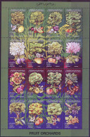 LYBIA - LIBYA -  FRUITS - Citrus, Dates, Olives, Grapes, Figs, Peaches, Plums, Pears - **MNH - 1995 - Libya