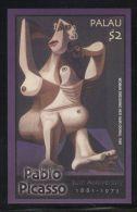 Palau - 2004 Pablo Picasso Block MNH__(TH-12395) - Palau