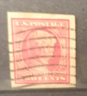 P756.-. USA . 1909.-.SCOTT # : 368 . USED. LINCOLN CENTENARY OF BIRTH. IMPERFORATE. CV US$ 22 ++ - United States