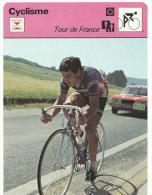 Fiche  Cyclisme- Vélo  :   éditions  A Lausanne  Suisse : Cyclocross : Tour De  France - Collections