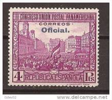 ES628-LA040TOO. España Spain Espagne CONGRESO UNION POSTAL PANAMERICANA OFICIAL 1931 (Ed.628**) Sin Charnela LUJO - Otros