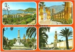 Nº3821 CARTAGENA - DIVERSAS VISTAS - Murcia