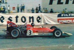 """Cpsm  ,grand Prix D'espagne """" Jocken Rindt """" Sur Lotus F1-72 - Sport Automobile"""