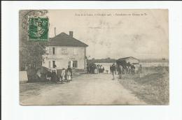 CRUE DE LA LOIRE 17 OCTOBRE 1907 INNONDATION DU CHAMPS DE TIR CAFE DE SPORT TACHON - Roanne