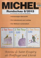Briefmarken Rundschau MICHEL 8/2013 Neu 5€ New Stamps Of The World Catalogue Magacine Of Germany ISBN 4 194371 105009 - Allemand
