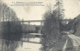 POITOU CHARENTE - 69 - DEUX SEVRES - THOUARS - Le Chemin De Pommiers  Et Viaduc Construuit Par Effel - Thouars