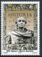 """REPUBLIC OF KOSOVO 2012 """"500 Anniversary Of Marin Barleti"""" 1v** - Kosovo"""